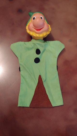 Marioneta enanito de los años 80.