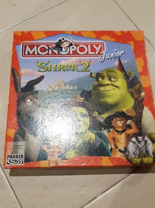 Monopoly infantil Shrek2