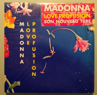 Madonna - Love Profusion - Cd Single Francia Cardb