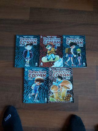 Lote Comics de Detective Conan Vol. 2