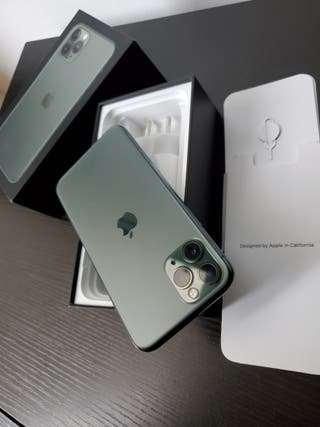 iphone 11 pro de 64gb impecable