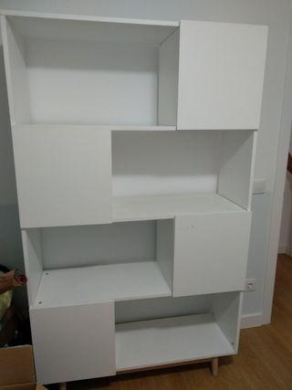 Librería modelo ARTIC de Maisons du Monde