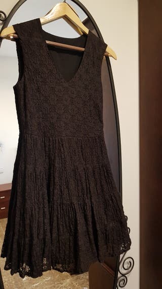 Vestido zara negro talla XS