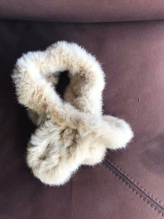 Bufanda / Cuello beige
