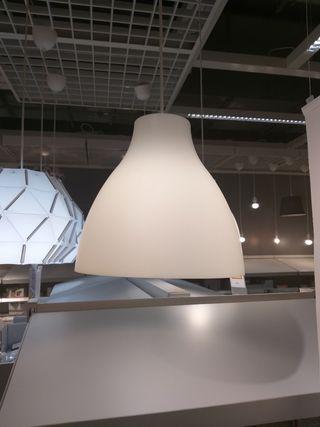 pantalla lámpara IKEA (leer y ver fotos)
