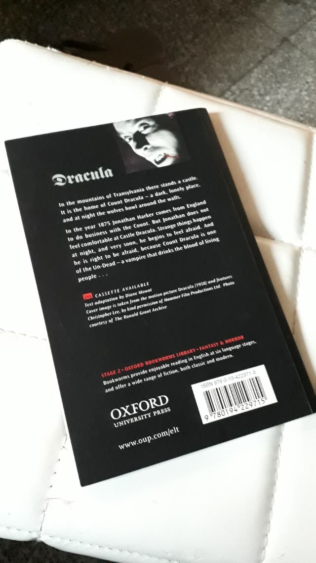 Libro inglés,editorial Oxford.