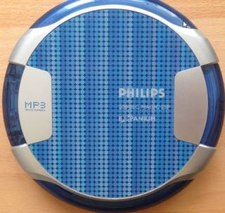Reproductor CD MP3 Discman Philips