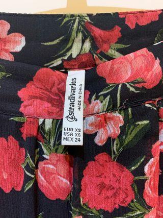 Zara flores stradivarius