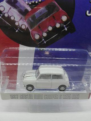 Austin Mini Cooper MKI Italian Job Greenlight 1/64