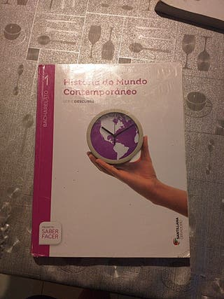 libro de historia do mundo contemporáneo
