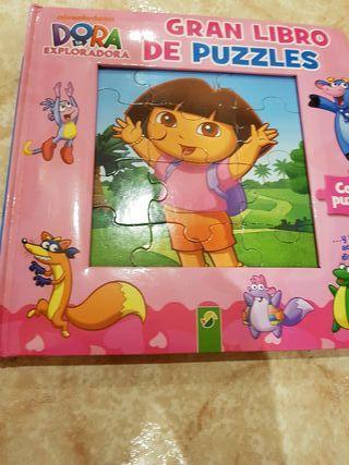 Libro-puzzle Dora Exploradora