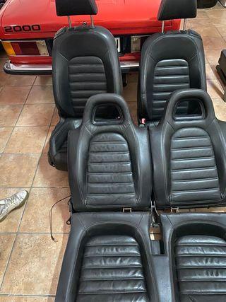 Asientos de cuero Volkswagen Sirocco