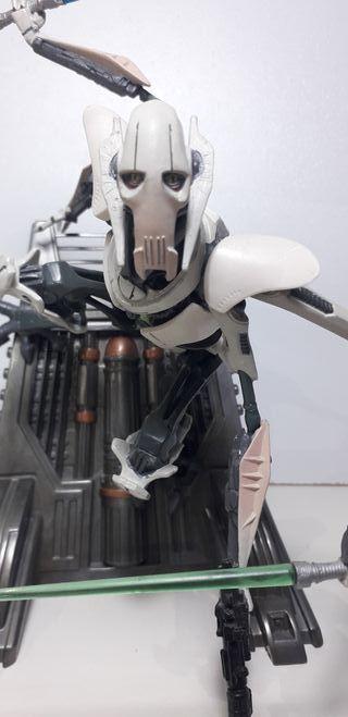 Star Wars Figura Gene Grievous Unleashed 2005