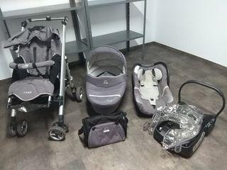 carro y accesorios bebé confort