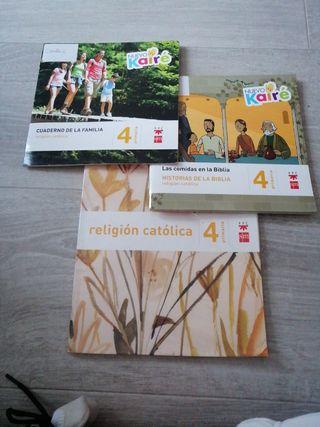 libros religion católica 4° primaria sm