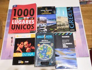 Guias de viaje por 1€. Las 6 guias por 5€