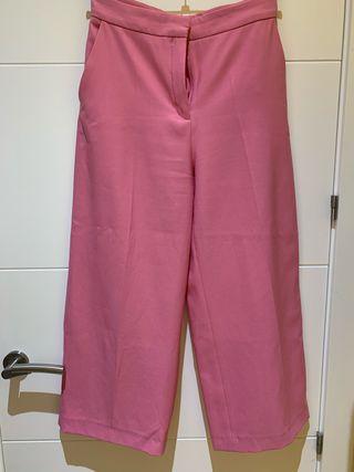 Pantalón culotte zara