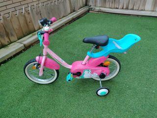 bicicleta 14'' de 3 a 5 años