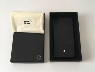 Funda Montblanc para iphone XS MAX
