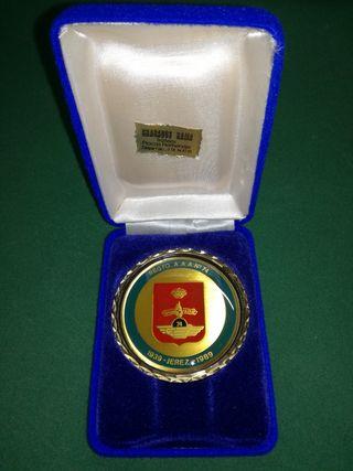 Medalla militar. REGTO. A.A.A.No 74 1939 - Jerez -