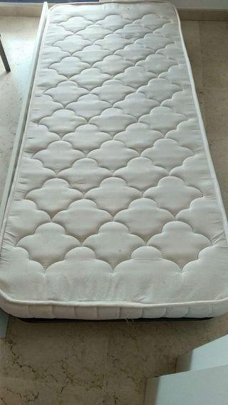 Dos colchones de cama de 80