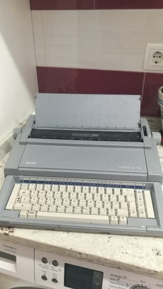 máquina escribir olivetti praxis 150-II