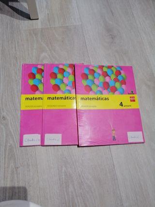libro matemáticas 4° primaria sm