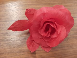 Flores de tela (5€ por caja)