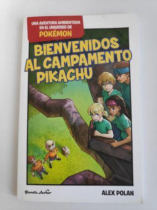 Libro Bienvenidos al Campamento Pikachu