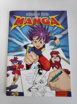 Libro Dibujo y Pinto Manga