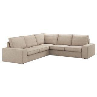 Sofá esquinero Kivik de Ikea