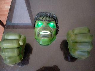 Mascara i puños hulk