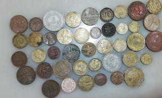 monedas antiguas extranjeras