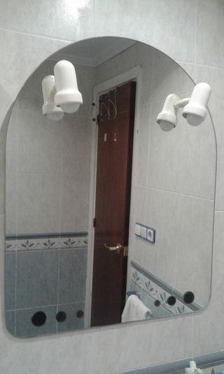 Espejo baño con luz