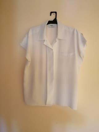 Blusa talla 46 blanca