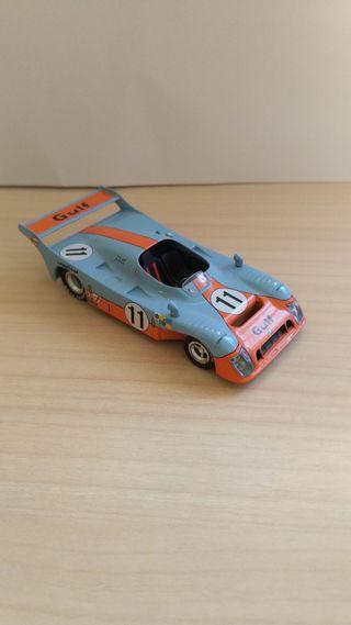 Gulf Mirage Le Mans coche a escala 1:43