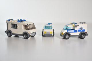 Lego City lote de vehículos policiales