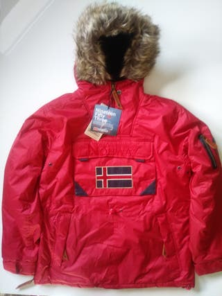 GEOGRAPHICAL NORWAY TALLA L ROJA