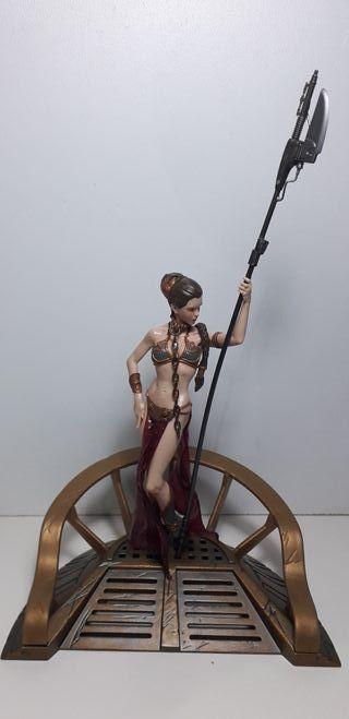 Star Wars Figura Princesa Leia (Esclava) Unleashed