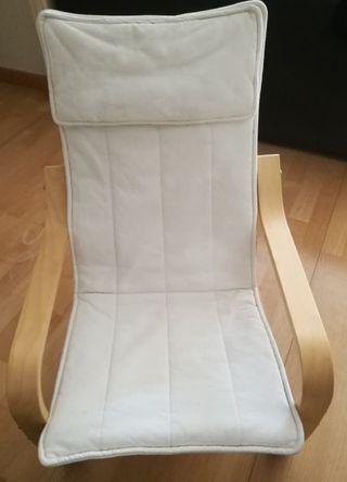 Funda sillón Butaca POÄNG. modelo infantil