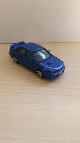 Subaru Impreza WRX Sti coche a escala 1:43