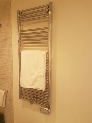 Rediador toallero electrico