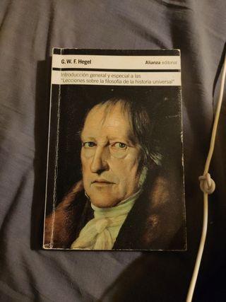 Hegel. Lecciones filosofía historia