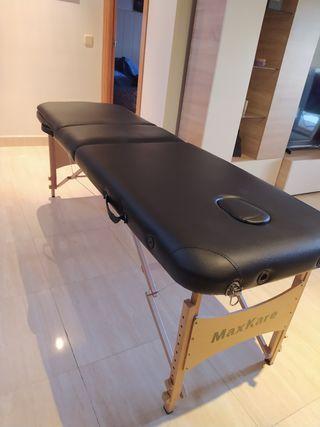 Camilla de masajes portátil MaxKare