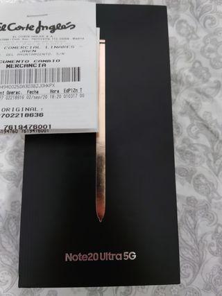 Samsung Galaxy Note20 ultra 5g bronze mystic