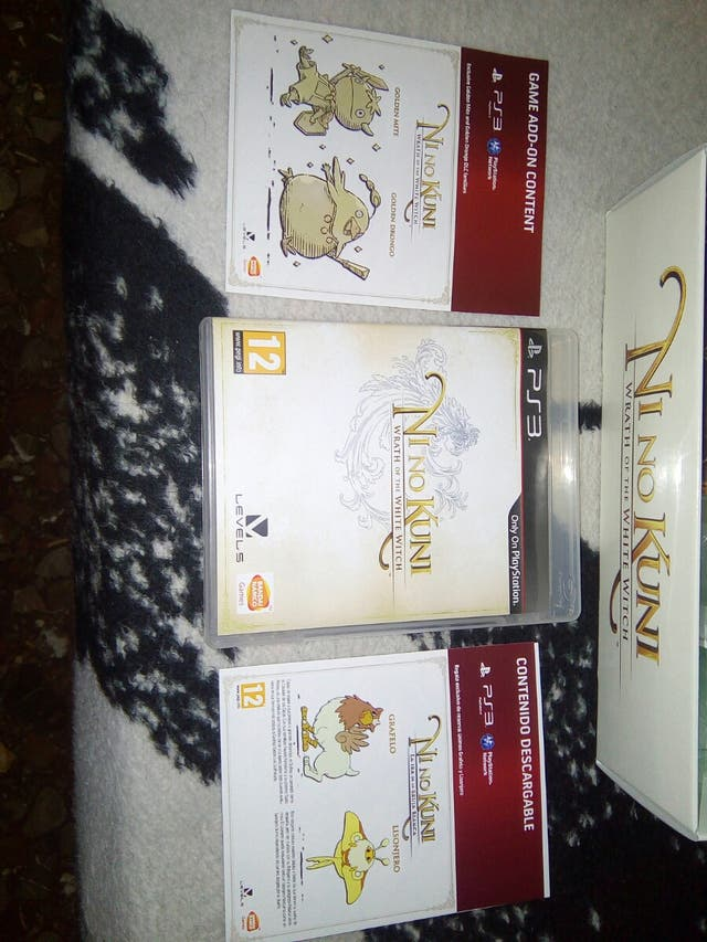 PS3 Ni No Kuni: Wrath of the White Witch Wizard's