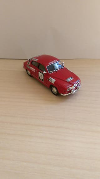Saab 96 coche a escala 1:43