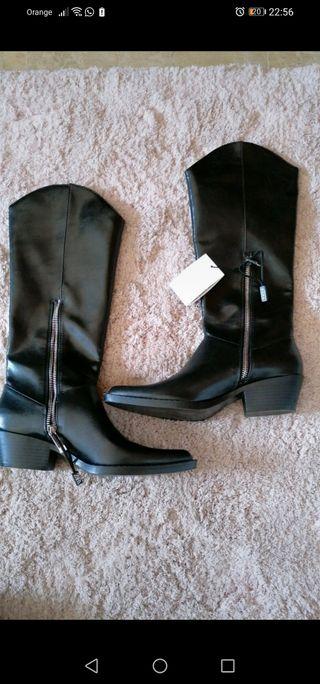 botas cowboy de Zara