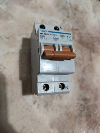 magnetotermico 20a hager