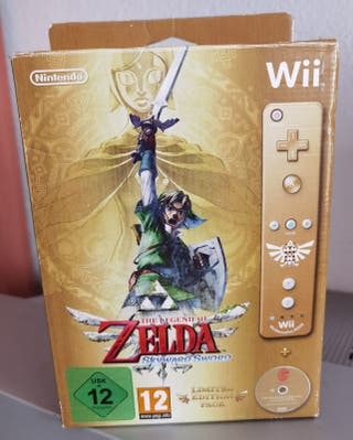 The legend of Zelda: Skyward Sword. Wii